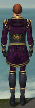 Mesmer Sunspear Armor M dyed back