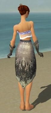 Elementalist Flameforged Armor F gray arms legs back