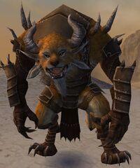 Pyre Fierceshot Armor Charr Front