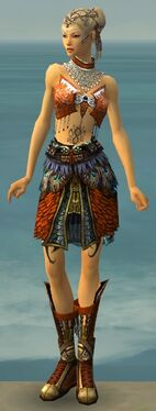Ritualist Deldrimor Armor F dyed front