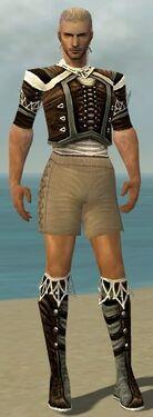 Ranger Kurzick Armor M gray chest feet front