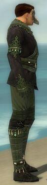 Mesmer Elite Luxon Armor M gray side