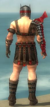 Warrior Elite Gladiator Armor M dyed back