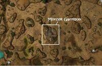 Morzek Garrison map
