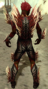 Necromancer Primeval Armor M dyed back