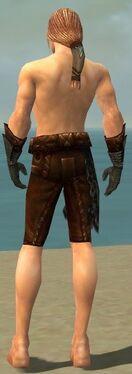 Ranger Istani Armor M gray arms legs back