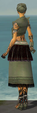 Ritualist Seitung Armor F gray back