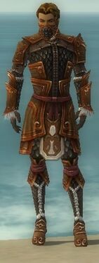Ranger Elite Canthan Armor M dyed front