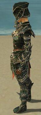 Warrior Elite Luxon Armor F gray side