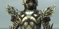 Warrior Silver Eagle armor/Male