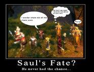 Saul's Fate