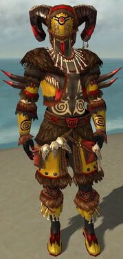 Ritualist Norn Armor M dyed front