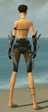 Assassin Elite Imperial Armor F gray arms legs back