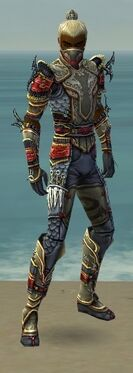 Assassin Monument Armor M gray front