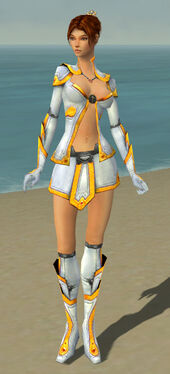 Elementalist Ascalon Armor F dyed front
