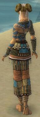Monk Luxon Armor F gray back