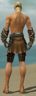 Ranger Luxon Armor M gray arms legs back