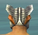 Warrior Templar Armor M dyed head back