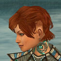 Monk Elite Luxon Armor F gray earrings