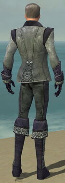 Mesmer Elite Elegant Armor M dyed back