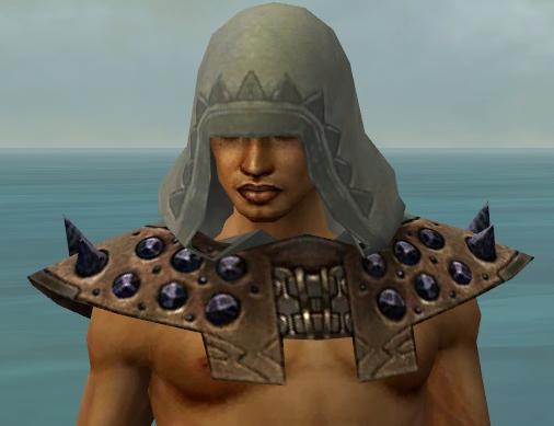 File:Dervish Obsidian Armor M gray head front.jpg