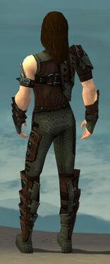 Ranger Obsidian Armor M gray back