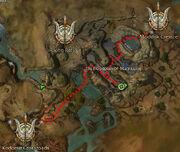 Commander Noss map location