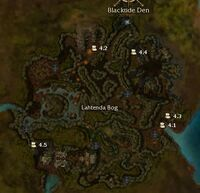 Lahtenda Bog map