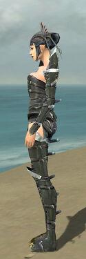Necromancer Profane Armor F gray side
