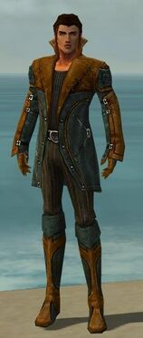 Mesmer Kurzick Armor M dyed front