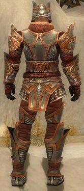 Warrior Asuran Armor M dyed back