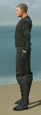 Mesmer Elite Rogue Armor M gray side