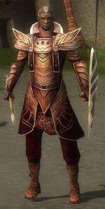 General Morgahn Mysterious Armour