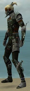 Assassin Elite Luxon Armor M gray side