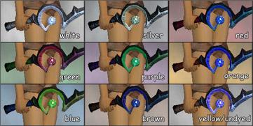Violet Edge-dye chart