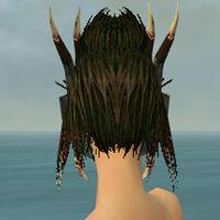Dread Mask F gray back