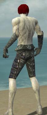Necromancer Ascalon Armor M gray arms legs back