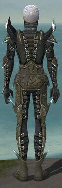 Necromancer Profane Armor M gray back