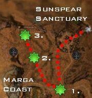 Heart or Mind Ronjok in Danger map