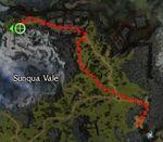 Yingko the Skull Claw map
