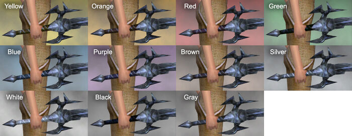 Sephis Sword Dye Chart