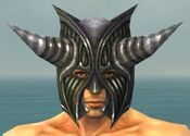Warrior Wyvern Armor M gray head front