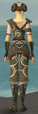 Monk Shing Jea Armor F gray back