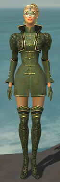Mesmer Canthan Armor F gray front