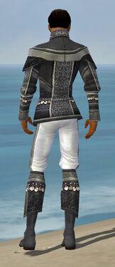 Elementalist Luxon Armor M gray back