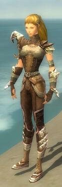 Ranger Asuran Armor F gray side
