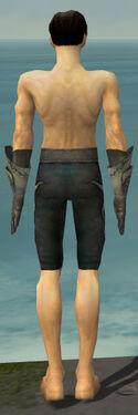 Elementalist Flameforged Armor M gray arms legs back