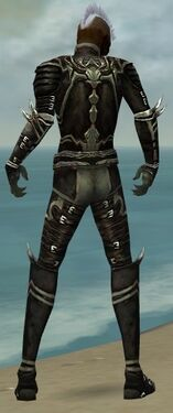 Necromancer Shing Jea Armor M gray back