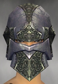 File:Warrior Platemail Armor F gray head front.jpg