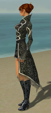 Elementalist Elite Canthan Armor F gray side